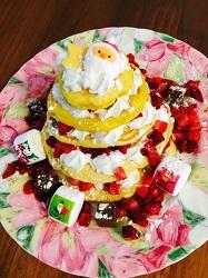 卵乳アレルギー クリスマスケーキ パンケーキ
